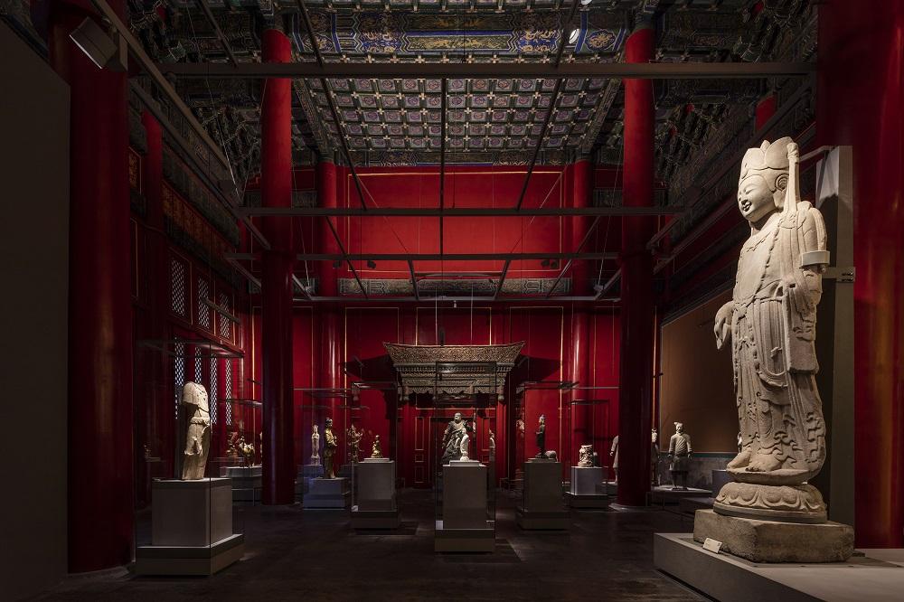The Palace Museum Sculpture Gallery, en China; de School of Architecture, Tsinghua University (Chou Lien, Zhang Xin, Feng Chongli, Wang Dongning, Han Xiaowei, Du Yi, Zhao Xiaobo, Xia Juntian y Zhao Xiufang)