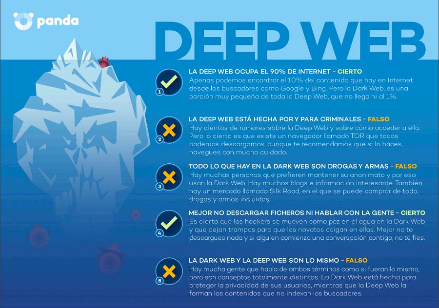 deepweb Deep Web: Espacio para delitos, datos y anonimato