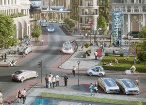 smart city, sin conductor, coches autonomos, coches automatizados