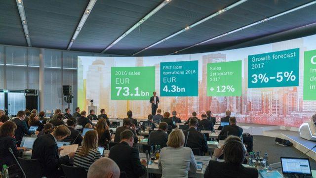 Bosch ventas 2017