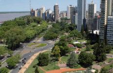 El Rosario, Argentina, iluminación, LED, alumbrado público