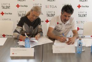 Setga, Cruz Roja