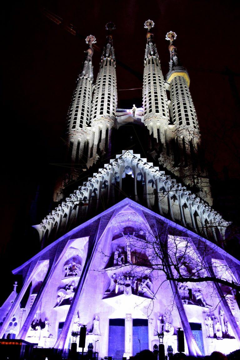 Albadalejo, Sagrada Familia, led