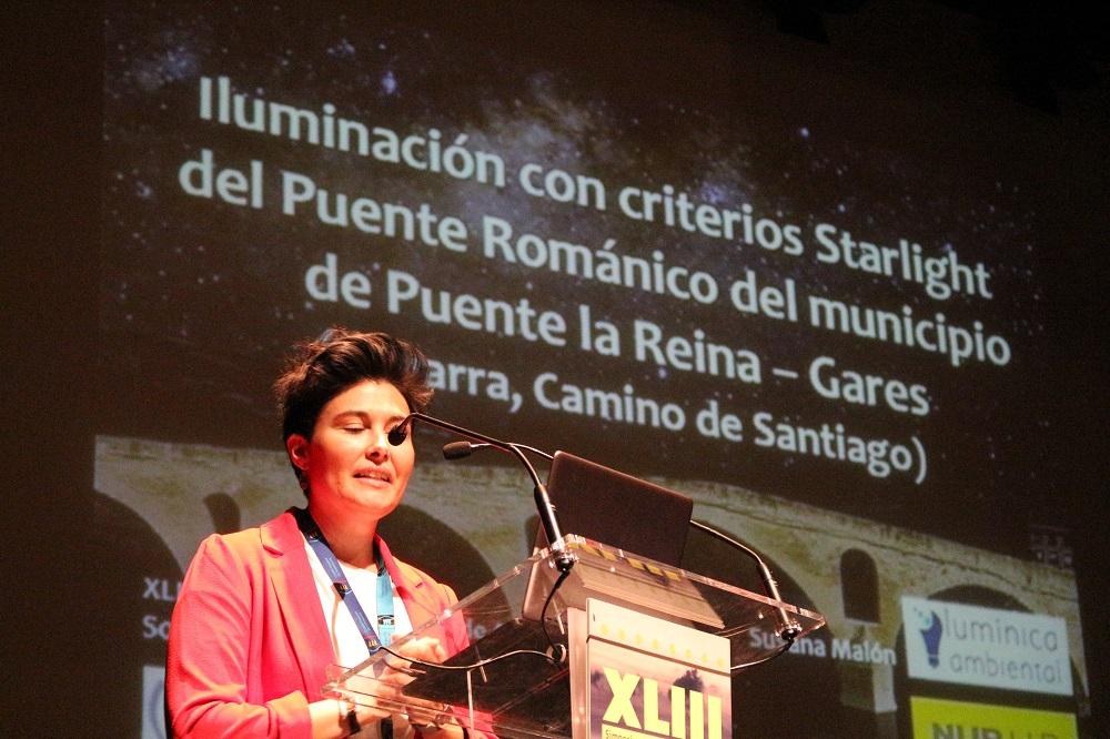 Simposium CEI, alumbrado público, Susana Malón