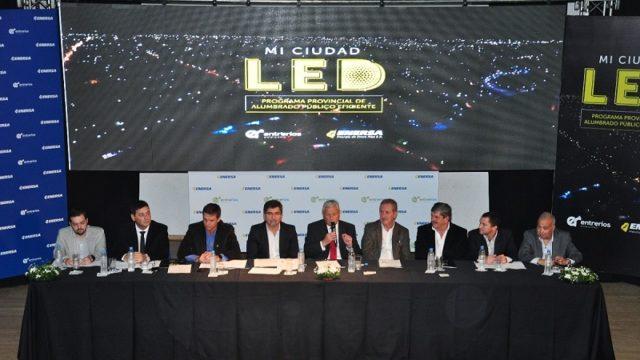 Mi ciudad LED, alumbrado, Argentina