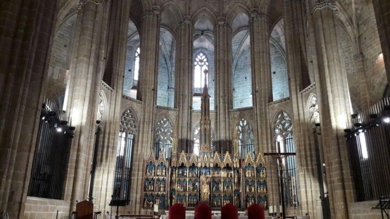 Catedral tortosa, iluminación