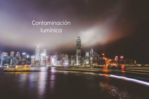 Roblan, contaminación lumínica, LED