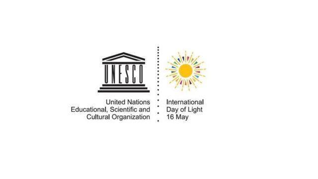 Día Internacional de la Luz, International Day of Light, UNESCO, lighting