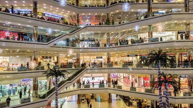 Iluminación, LED, centros comerciales, servicios iluminación