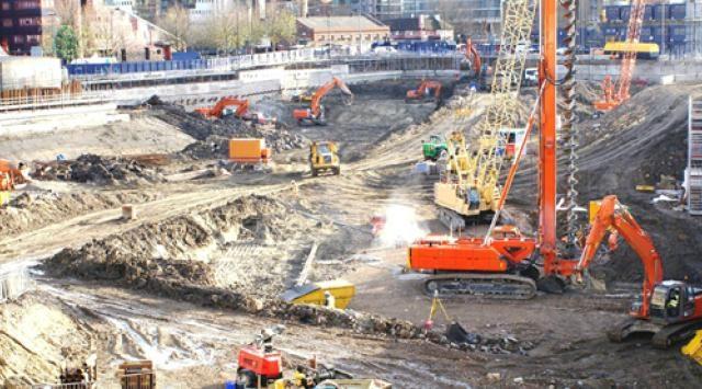 obra pública, construcción