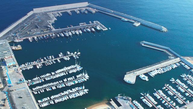 iluminación puertos, Generalitat