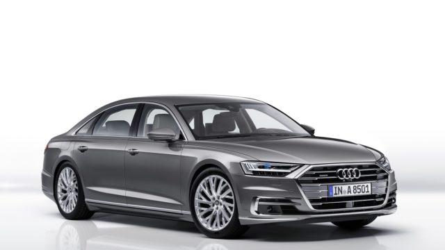 Audi A8, LED, OLED