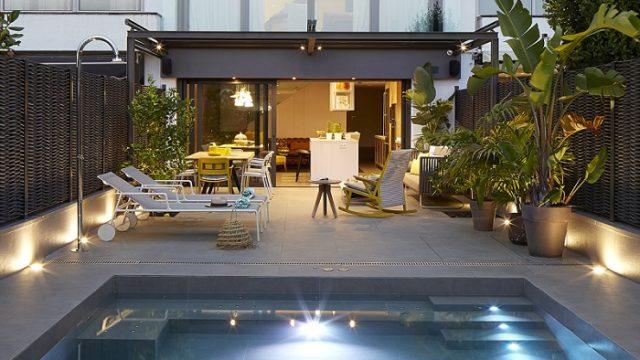 Terrazas personalizadas con escenas de iluminaci n for Iluminacion terraza