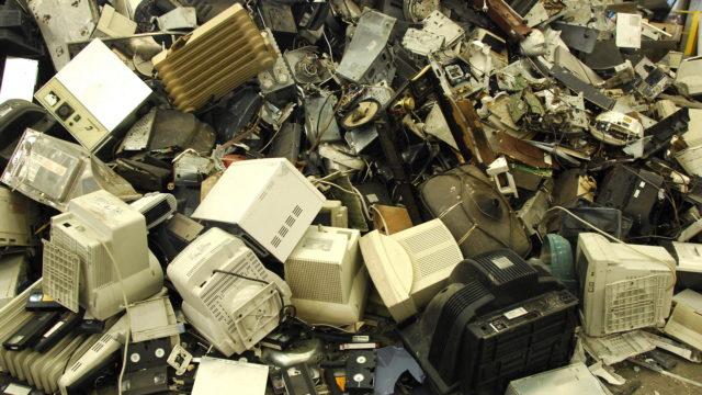 residuos electrónicos,