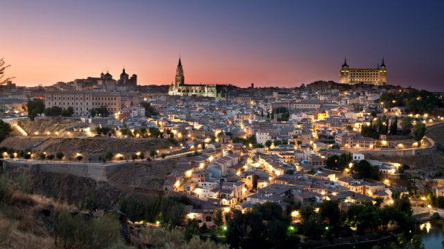 Toledo, alumbrado público, licitación, concurso, iluminación