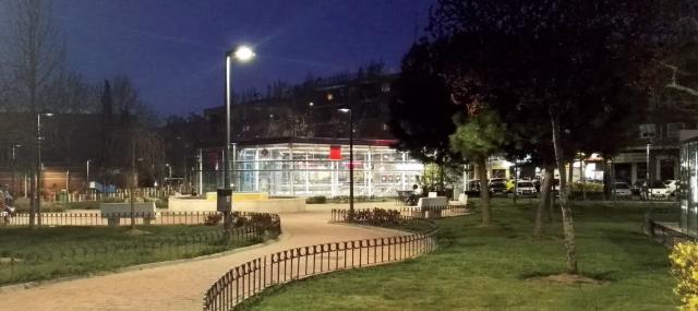 Schréder Socelec, alumbrado público, San Sebastián de los Reyes, LED