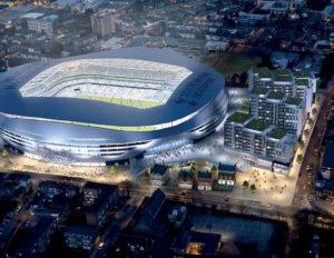 iluminación, Tottenham, Zumtobel, futbol