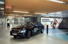 tecnología, aparcamiento automatizado