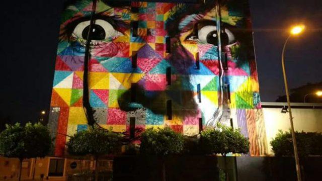 Iluminación - mural