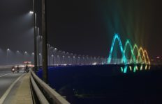 Nhật Tân bridge, Philips Lighting, Lighting, LED