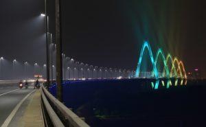 Nhật Tân bridge, Philips Lighting, Lighting, LED