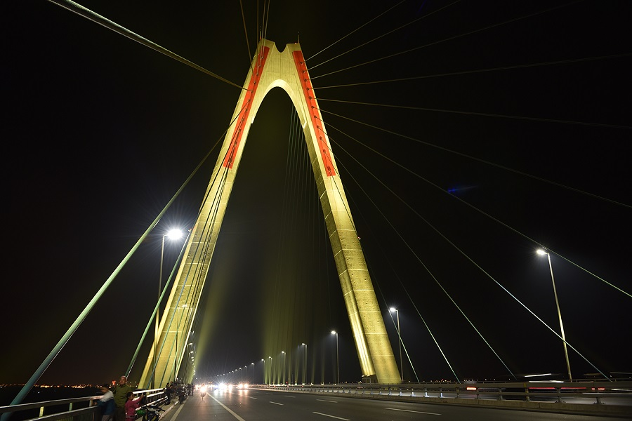 Nhat Tan bridge, Philips Lighting, LED, Lighitng