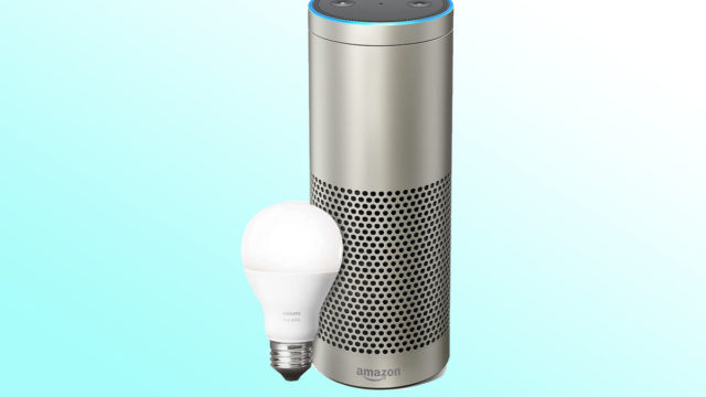 smart home, Echo Plus, Philips Lighting, Amazon