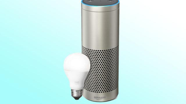 smart home, Echo Plus, Philips Lighting, Amazon