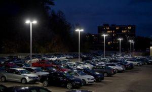 DOE, iluminación, LED, iluminación exterior