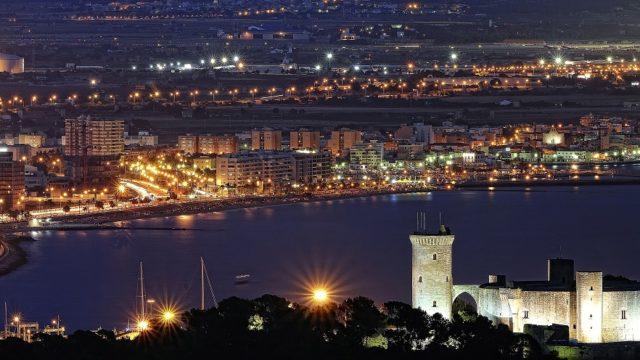 alumbrado público, Baleares