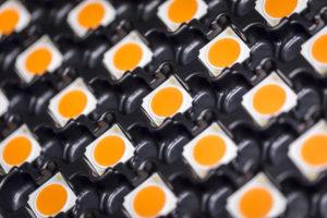 LED, China, mercado, iluminación