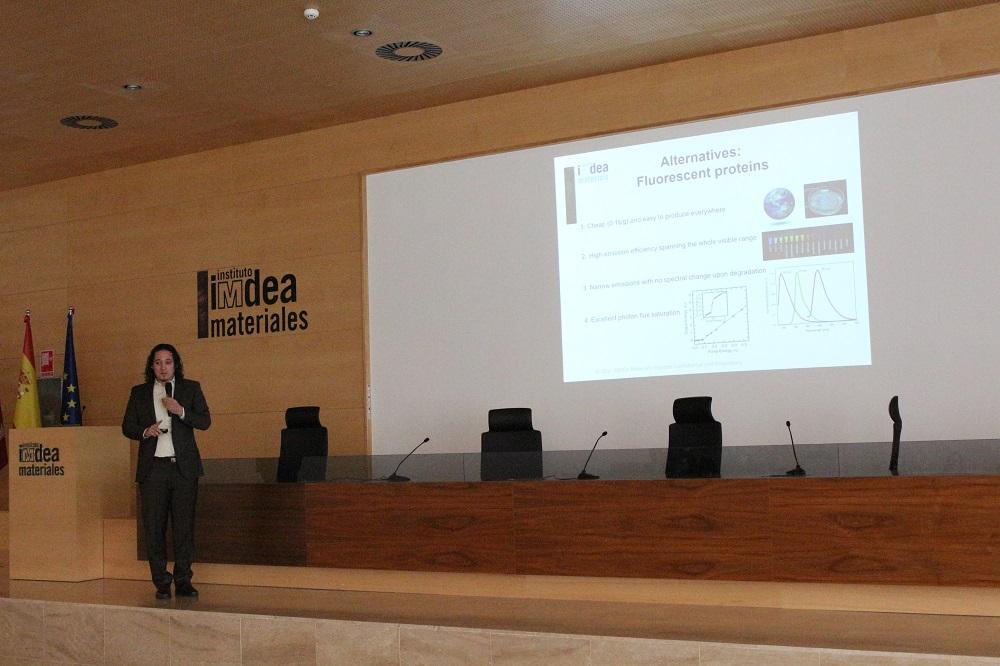 BioLED, IMDEA Materiales, Rubén Costa, iluminación