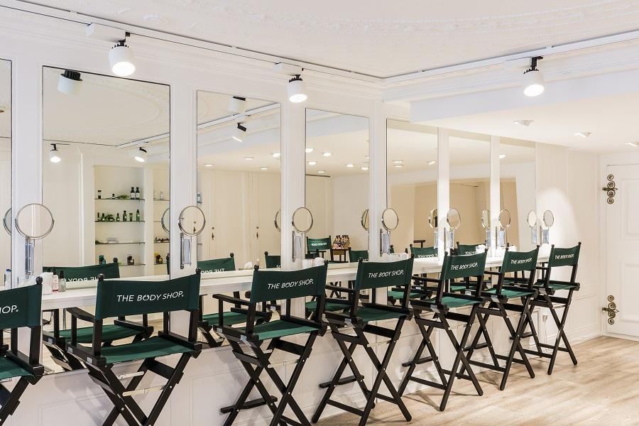 The Body Shop, Ansorg, iluminación, LED