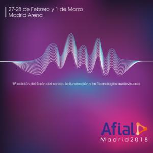 Afial, Salón del sonido, la iluminación y tecnologías audiovisuales @ Madrid Arena | Madrid | Comunidad de Madrid | España