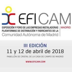EFICAM Exposición y Foro de empresas instaladoras, plataformas de distribución y fabricantes de la Comunidad de Madrid 2018 @ Pabellón de Cristal | Madrid | Comunidad de Madrid | España