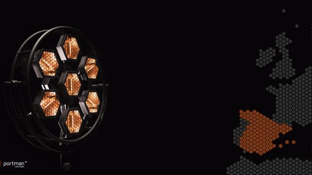 Portman Custom Lights, Stonex, iluminación