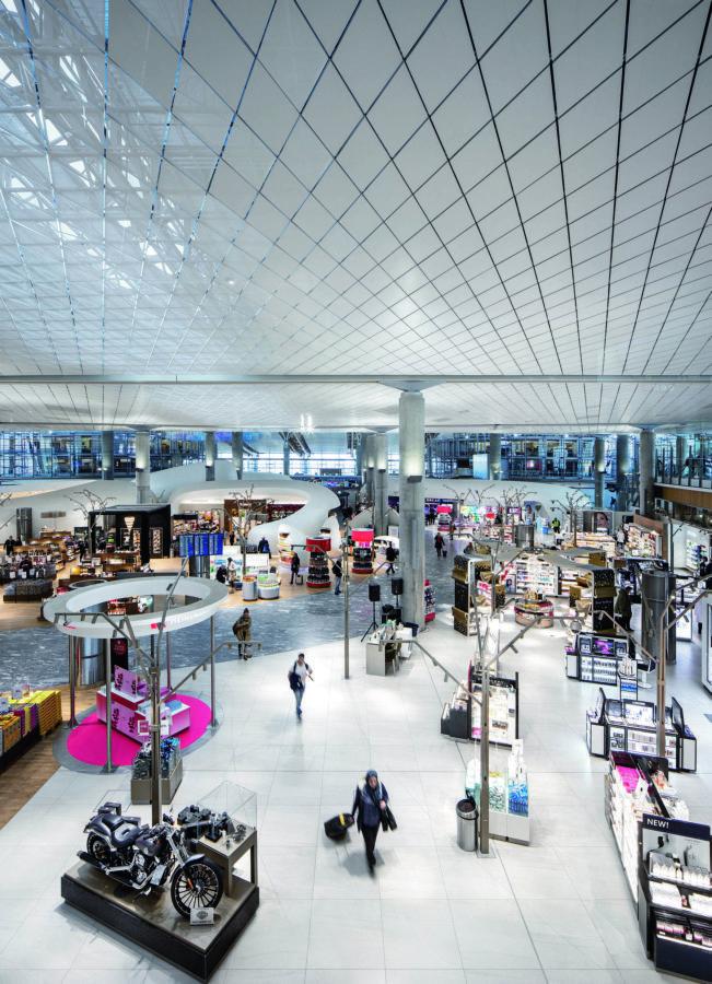 Oslo´s airport, LED, lighting