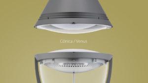 ATP, iluminación LED, Cónica, Venus