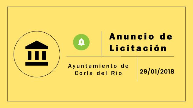Alumbrado Publico, Licitación, iluminación, Coria del Río
