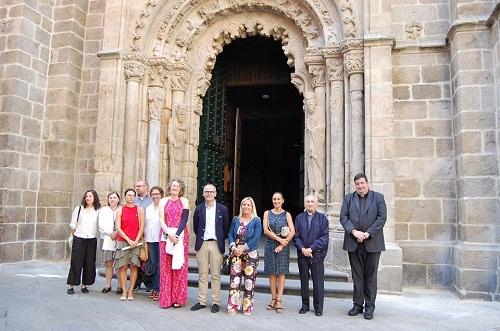 iluminación, catedral de Orense