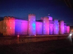 Aljafería, Zaragoza, iluminación