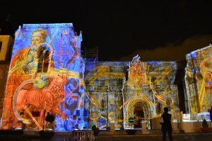 Iluminación artística, Basilica, León