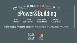 ePower&Building 2018 - Matelec 2018 @ Ifema, Feria de Madrid | Madrid | Comunidad de Madrid | España
