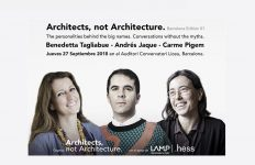 Barcelona, arquitectos,