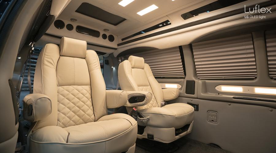 LG, industria automotriz, iluminación, LED, OLED