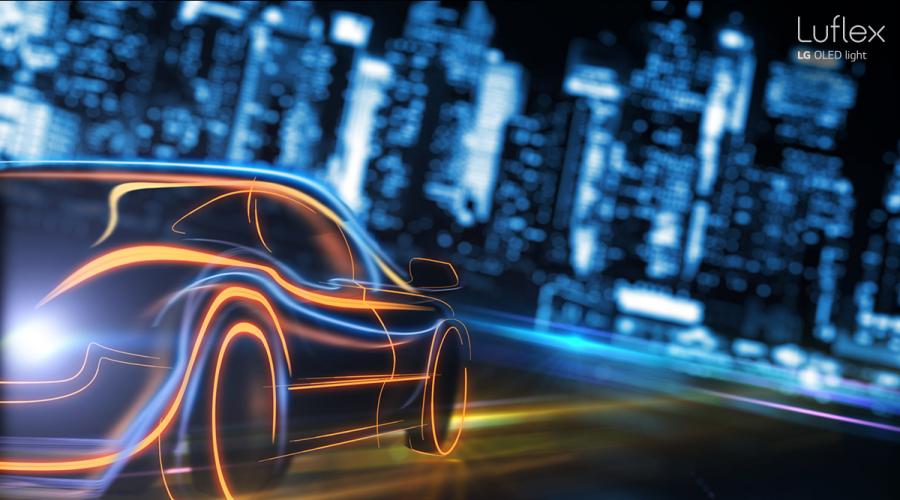 LG, OLED, LED, industria automotriz, iluminación