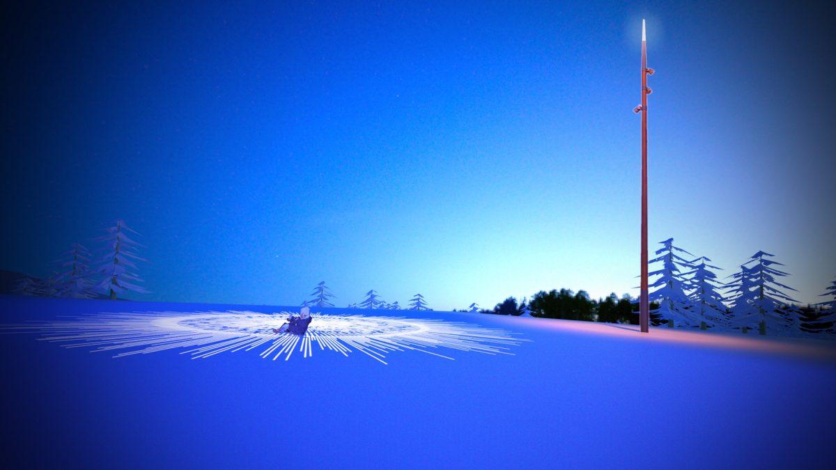 saariselka, aurora boreal, LED, iluminación, estación esquí