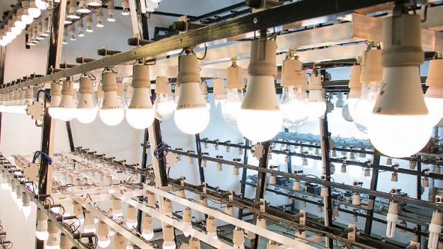 lámparas LED, INTI, Argentina, lámparas, medición, LED, bombillas
