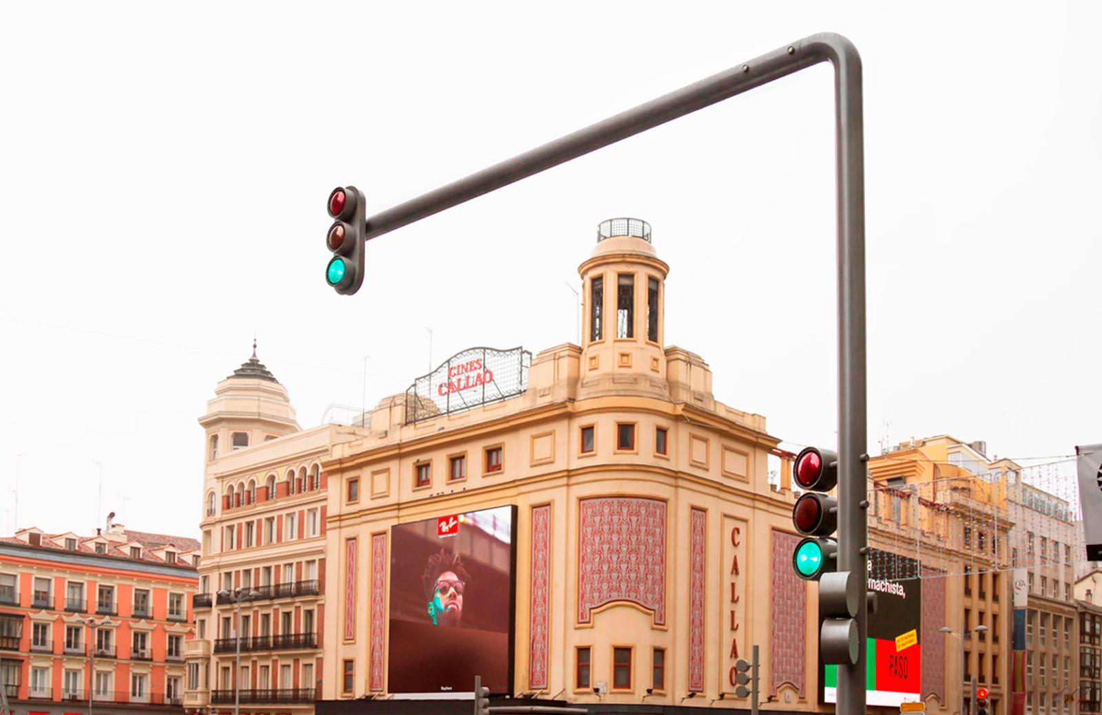 Setga, semáforos, alumbrado público, madrid, Gran Via