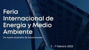 GENERA 2020, Feria Internacional de Energía y Medio Ambiente @ IFEMA